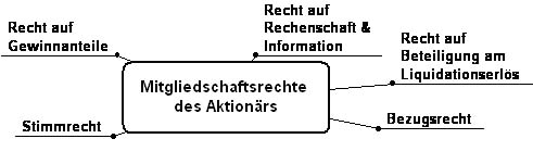 Mitgliedschaftsrechte des Aktionärs